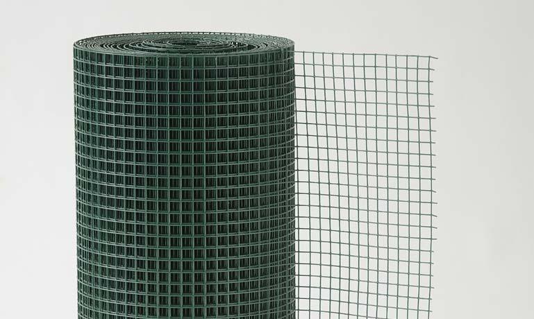 Rete zincata e plastificata Volisplast